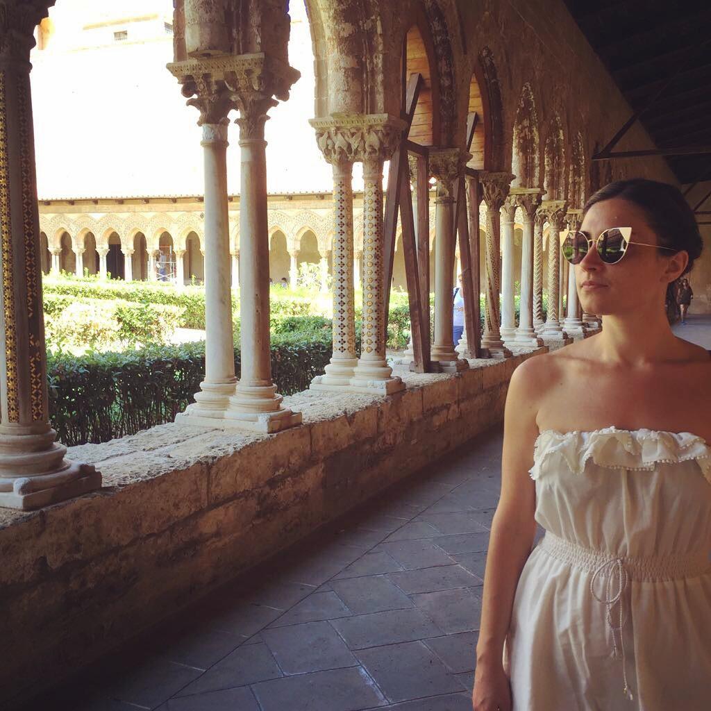 Cloître de la cathédrale de Monreale