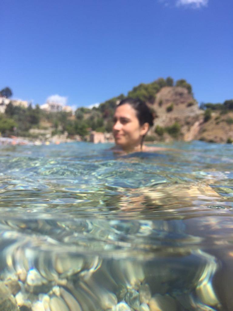 Plage de Taormine