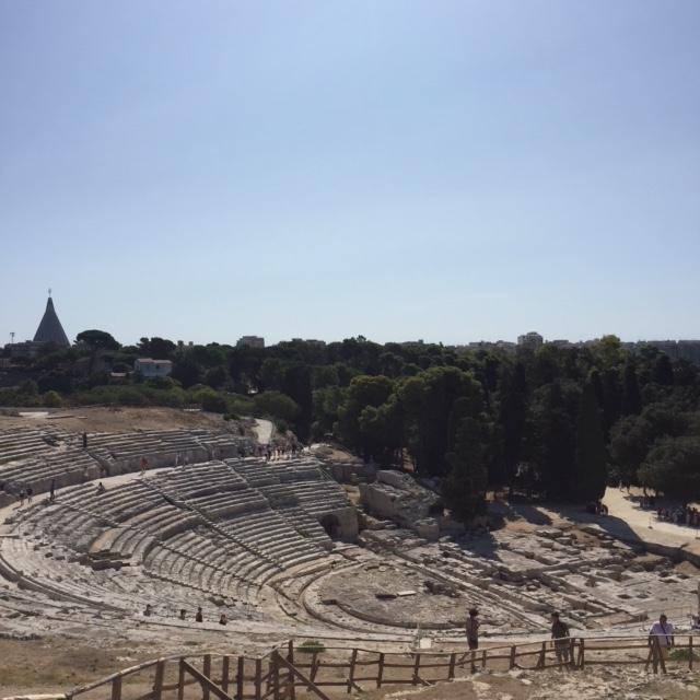 Amphithéâtre Grec de Syracuse