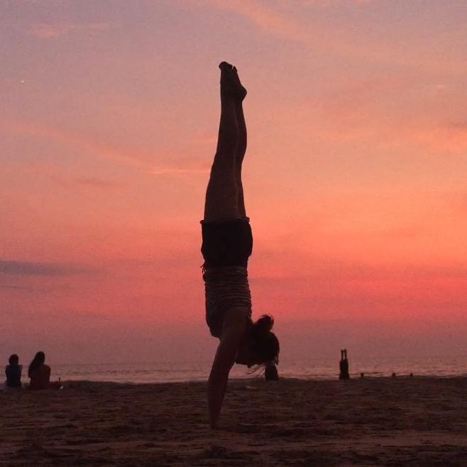 Handstand avec vue