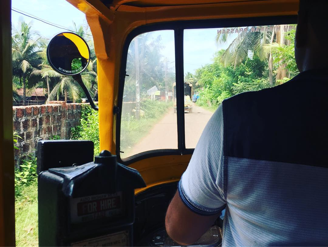 Le conducteur de tuk tuk