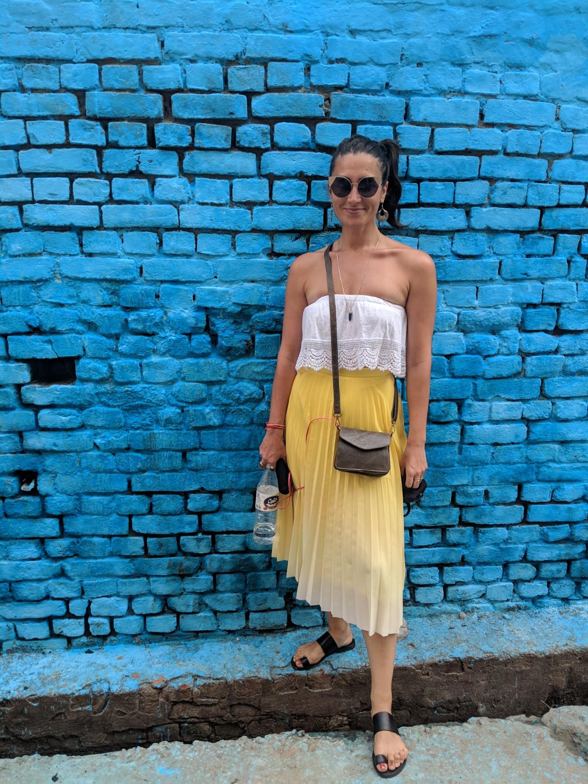 Les rues colorées d'Agra